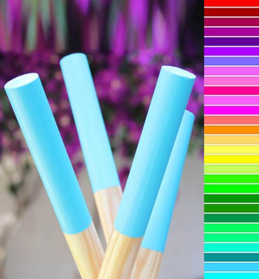 Palos de colores para Tipis