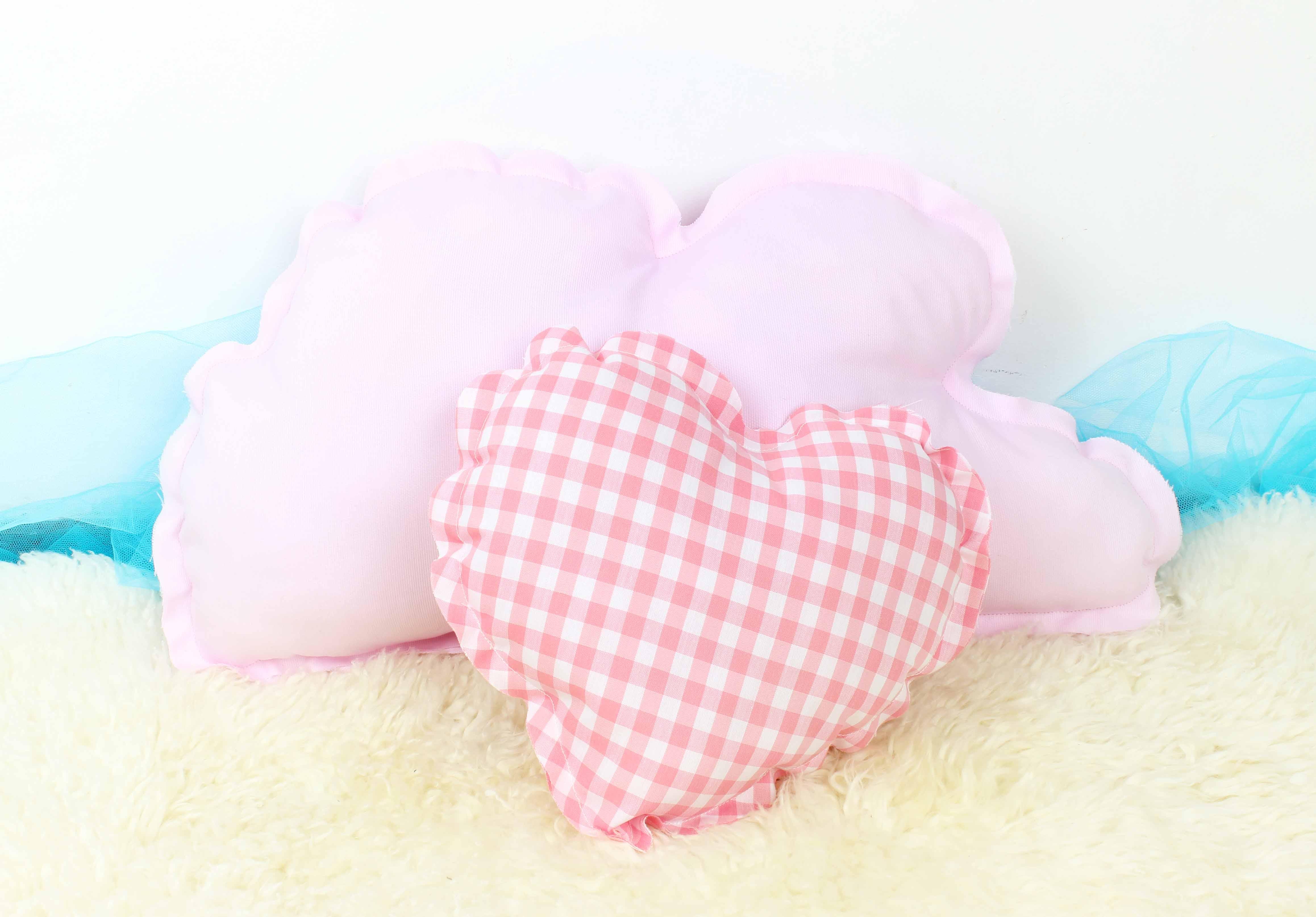 Coj n en forma de nube color rosa beb comprar tipis y - Cojines de nubes ...