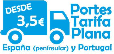 Portes Tarifa Plana  a partir de 3,50 euros
