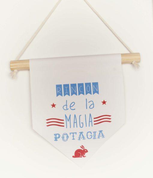 banderola rincón de la magia potagia